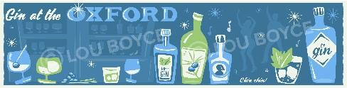 Gin at the Oxford pub, Totterdown, Bristol