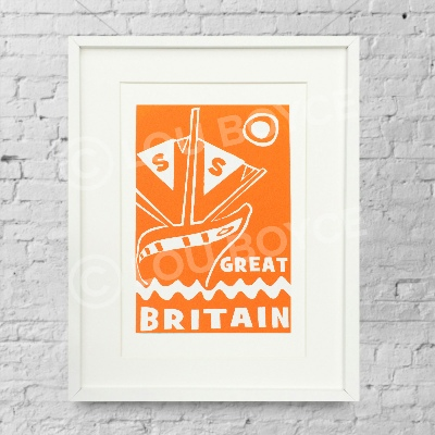 SS Great Britain - orange