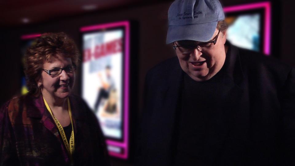 Tami interviews director Michael Moore
