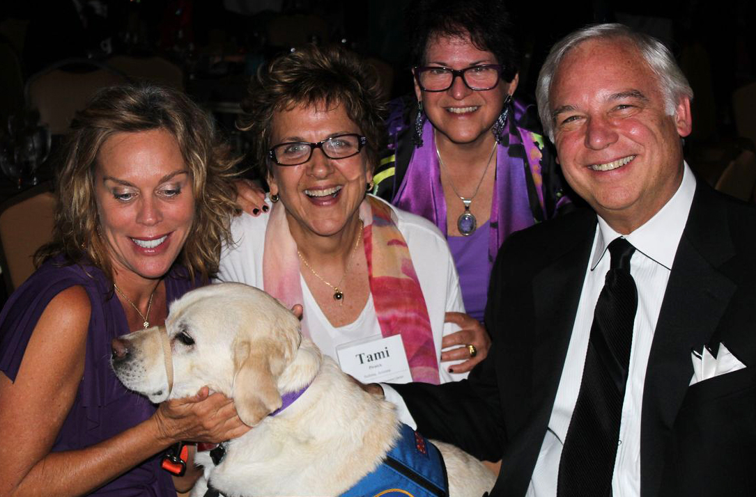 "Patty Aubery, President at Jack Canfield Companies, Jack Canfield, Co-Creator of ""Chicken Soup for the Soul"" with Susan Broude and Tami Pivnick"