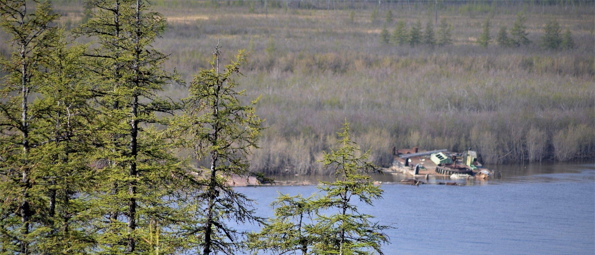 Organic matter in Arctic Rivers -