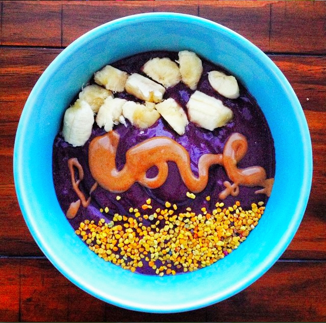 Show your body some love and savor a sweet, nutrient-densesmoothie bowl.
