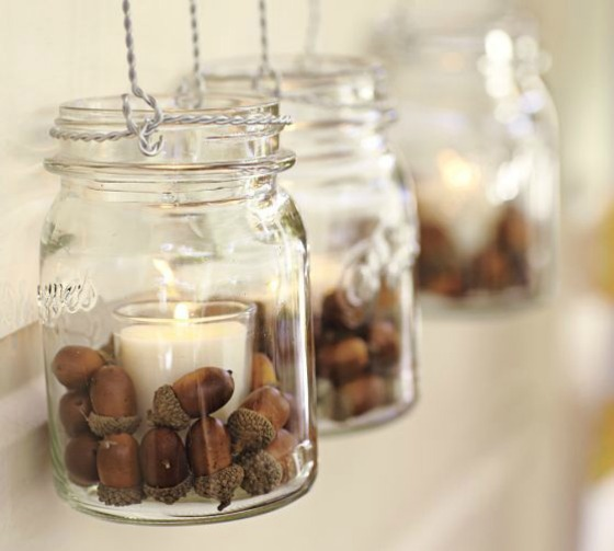 Sweetest pumpkin ever and such a cute idea for all those acorns we find on our walks!