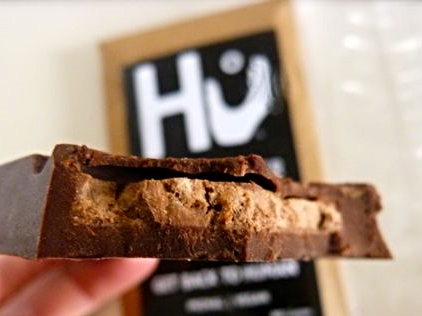 This chocolate bar definitely lives up to the hype. Hu Kitchen Puffed Quinoa & Almond chocolate. Om nom nom.
