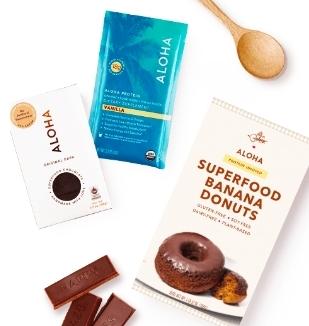 Organic tea and superfood chocolate-covered donuts, sounds like balance to me.