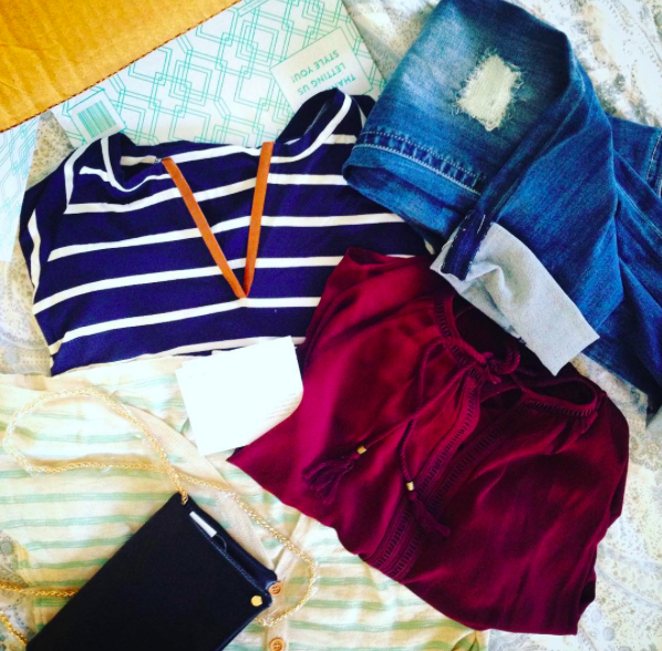 Happiness delivered! Stitch Fix is a busy mom's dream.come.true!