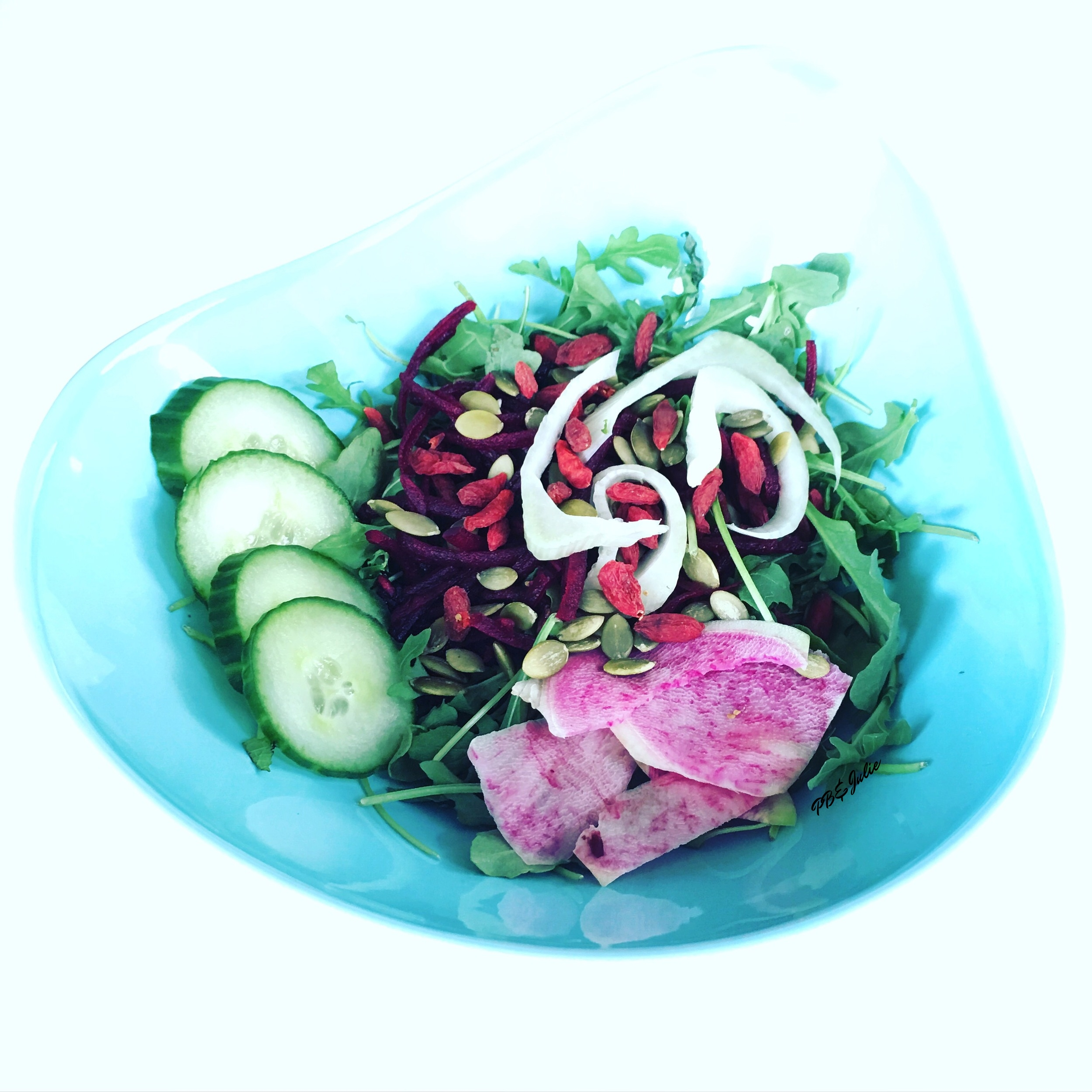 This detox salad features all of Spring's finest flavors in one big and beautiful bowl of health-promoting goodness.