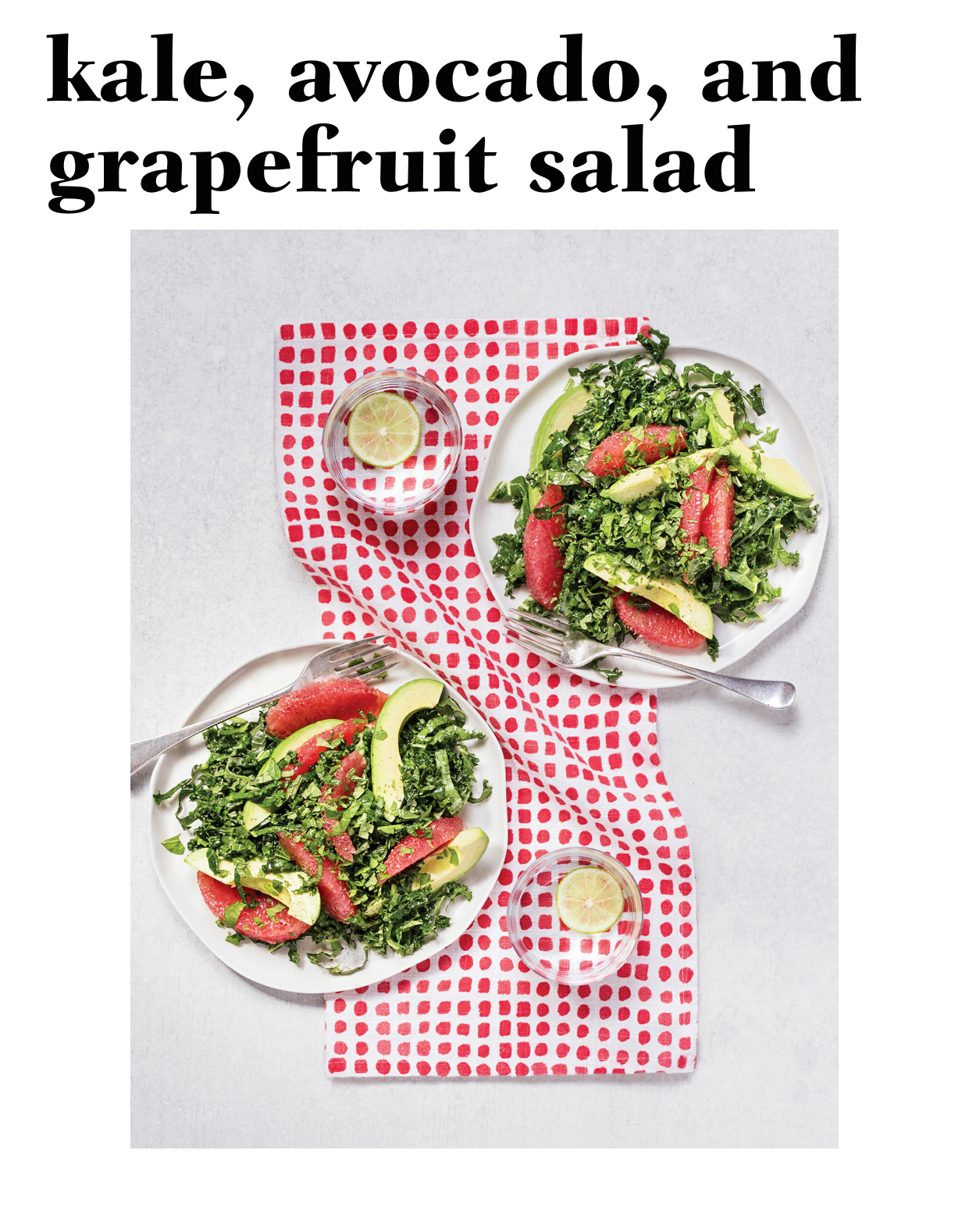 Zesty and light, this salad is on rotation in our house this summer! Recipes for Your Perfectly Imperfect Life by Kimberly Snyder www.mysolluna.com #vegan #feelgoodmovement