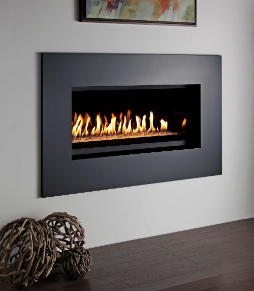 Montigo P Series 42   Contemporary Fireplace