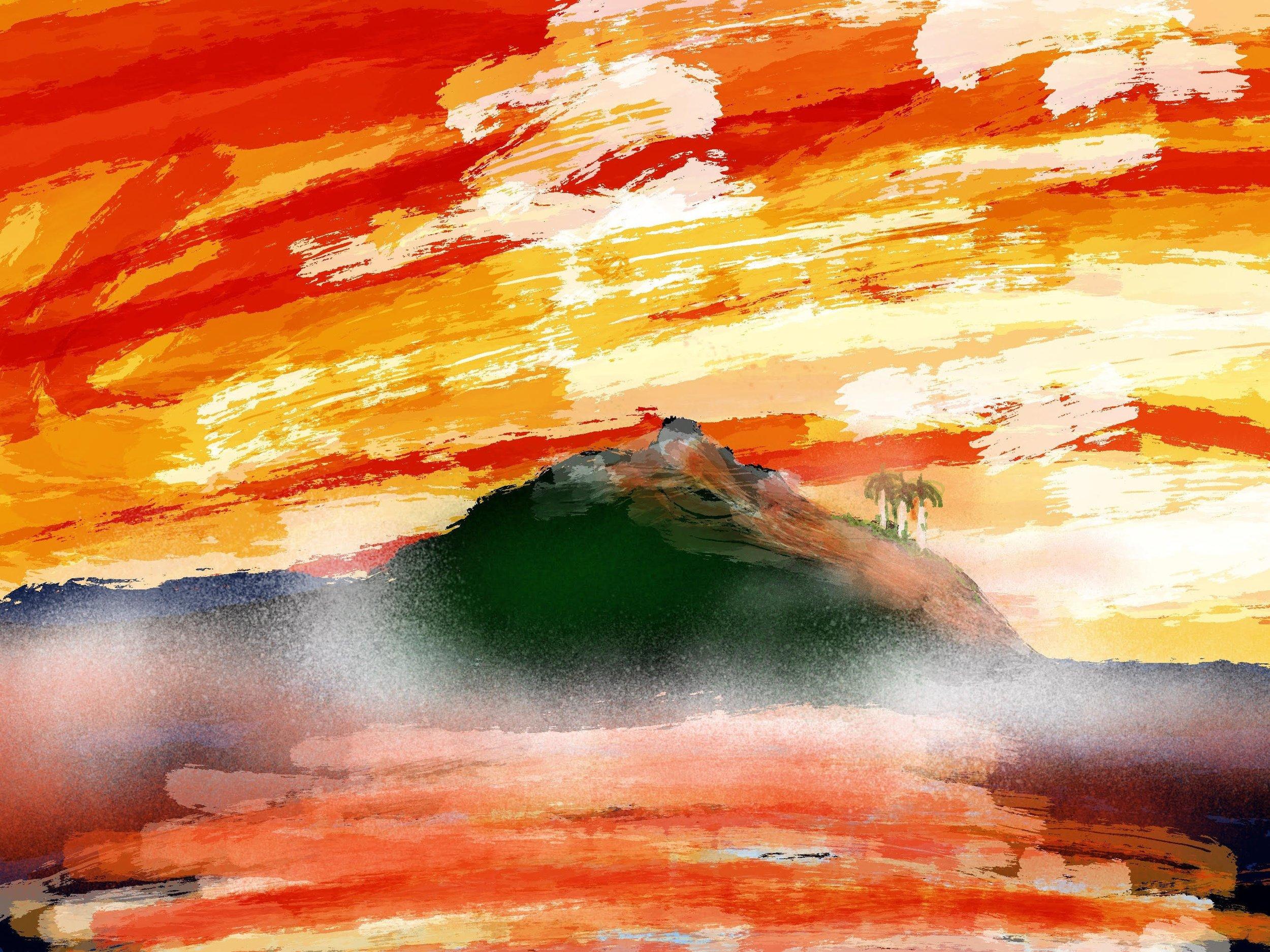 Lino Luis-Orange sky.jpg