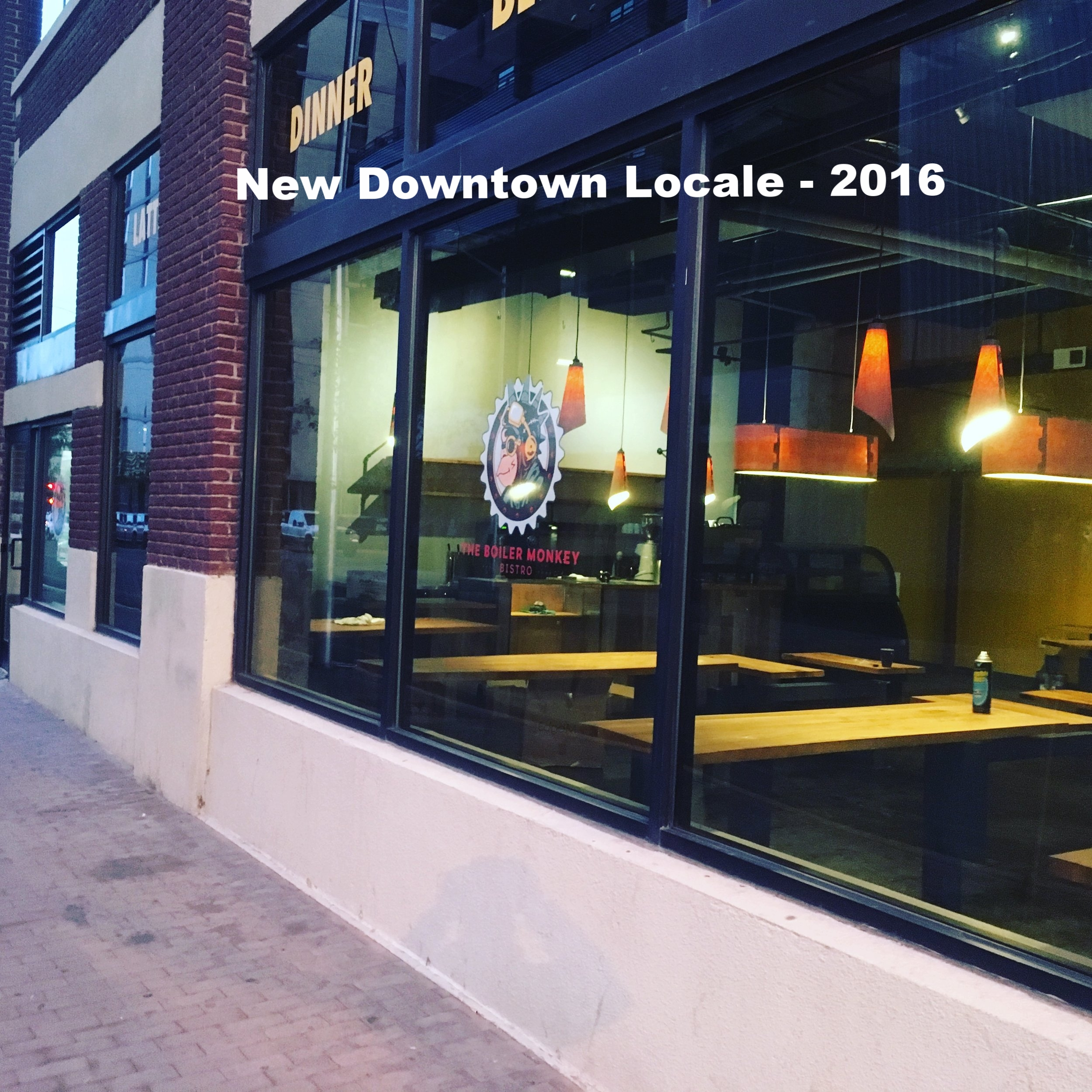 New Downtown Locale - 2016