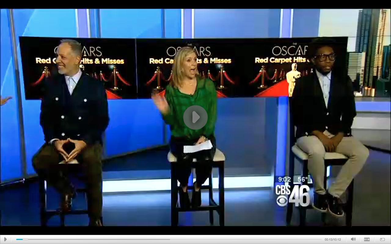 Oscar fashion at Better Mornings Atlanta on CBS46