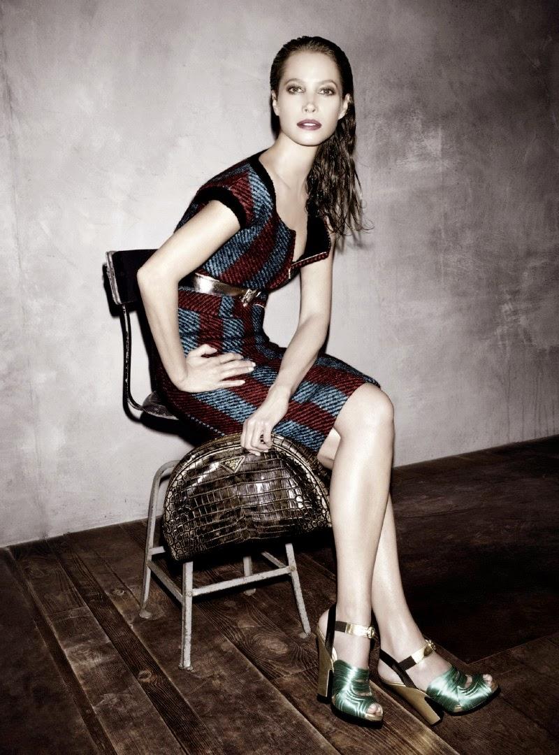Christy Turlington Prada AW Campaign