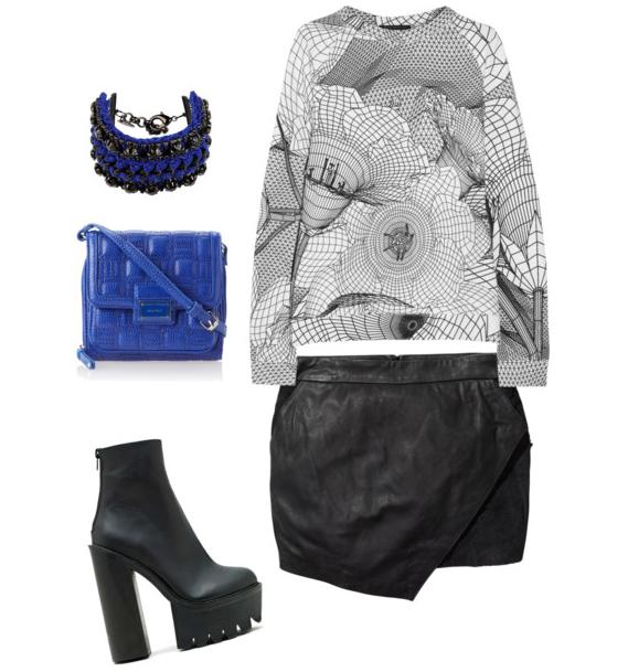 venessa arizaga-nine west-jeffrey campbell-christopher kane-scotch and soda-fashion-ootd-outfit inspiration-style-street style-demi styles-royal blue-fashionado