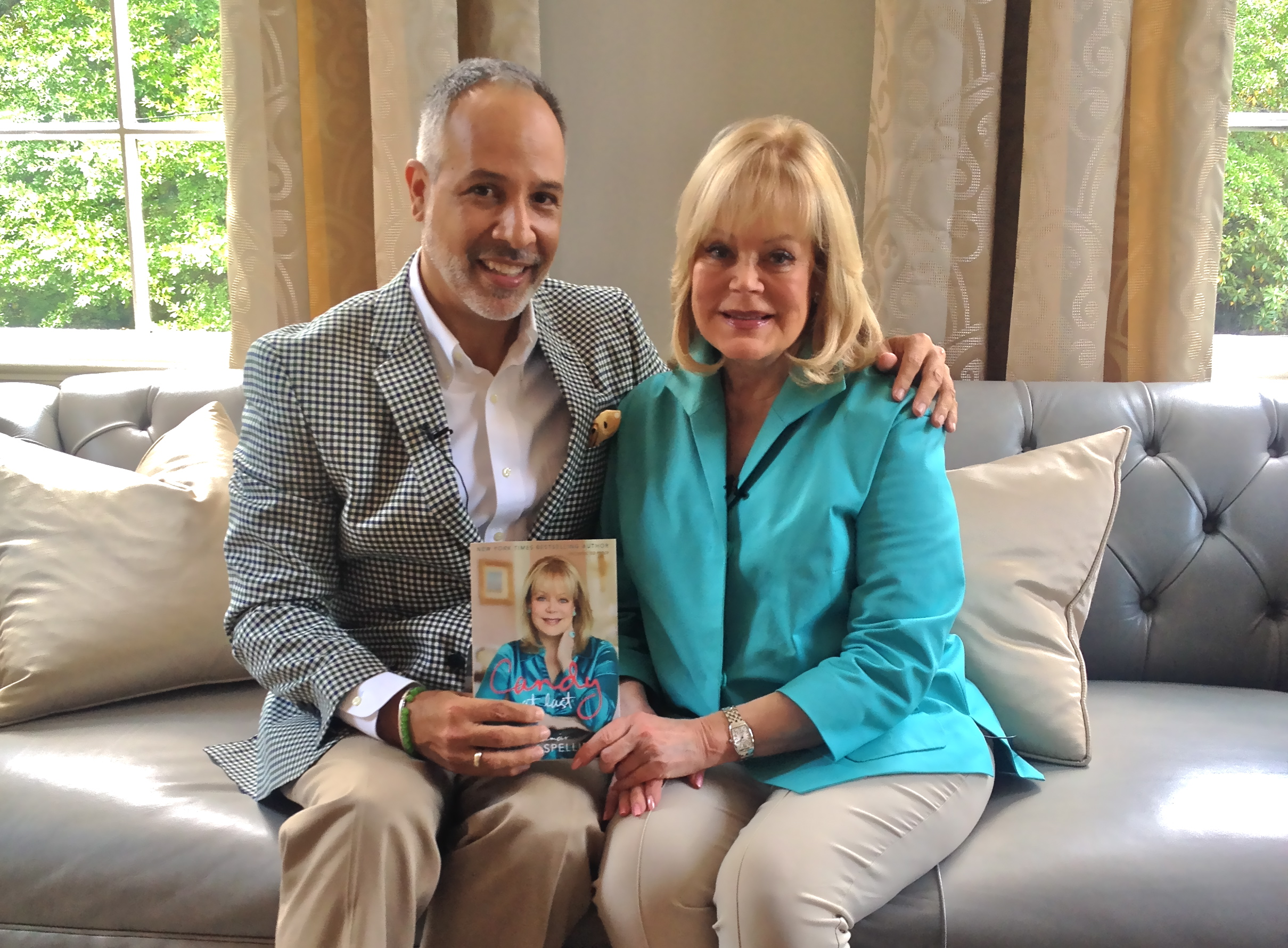 Loved meeting Candy Spelling. Interviewed her for fashionadoTV at Estate in Buckhead. She told me stories about old Hollywood, the writing of her book  Candy At Last  and shared her feelings about Tori Spelling.  Watch Interview .