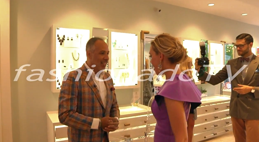 With Kendra Scott at the grand opening of her location in Buckhead. Click  HERE  for interview.