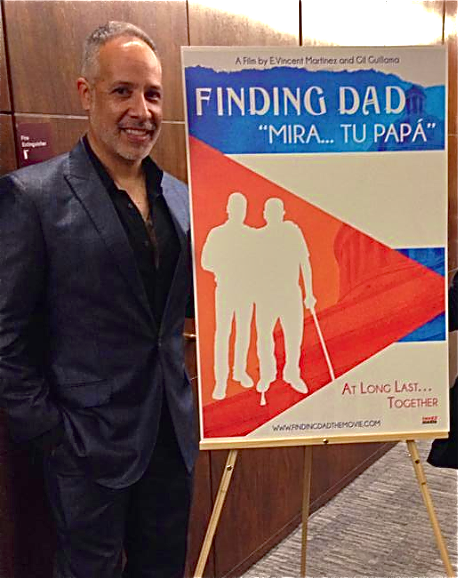 """An amazing evening at the premiere of Finding Dad: """"Mira... tu Papa"""" at the Georgia Latino Film Festival."""