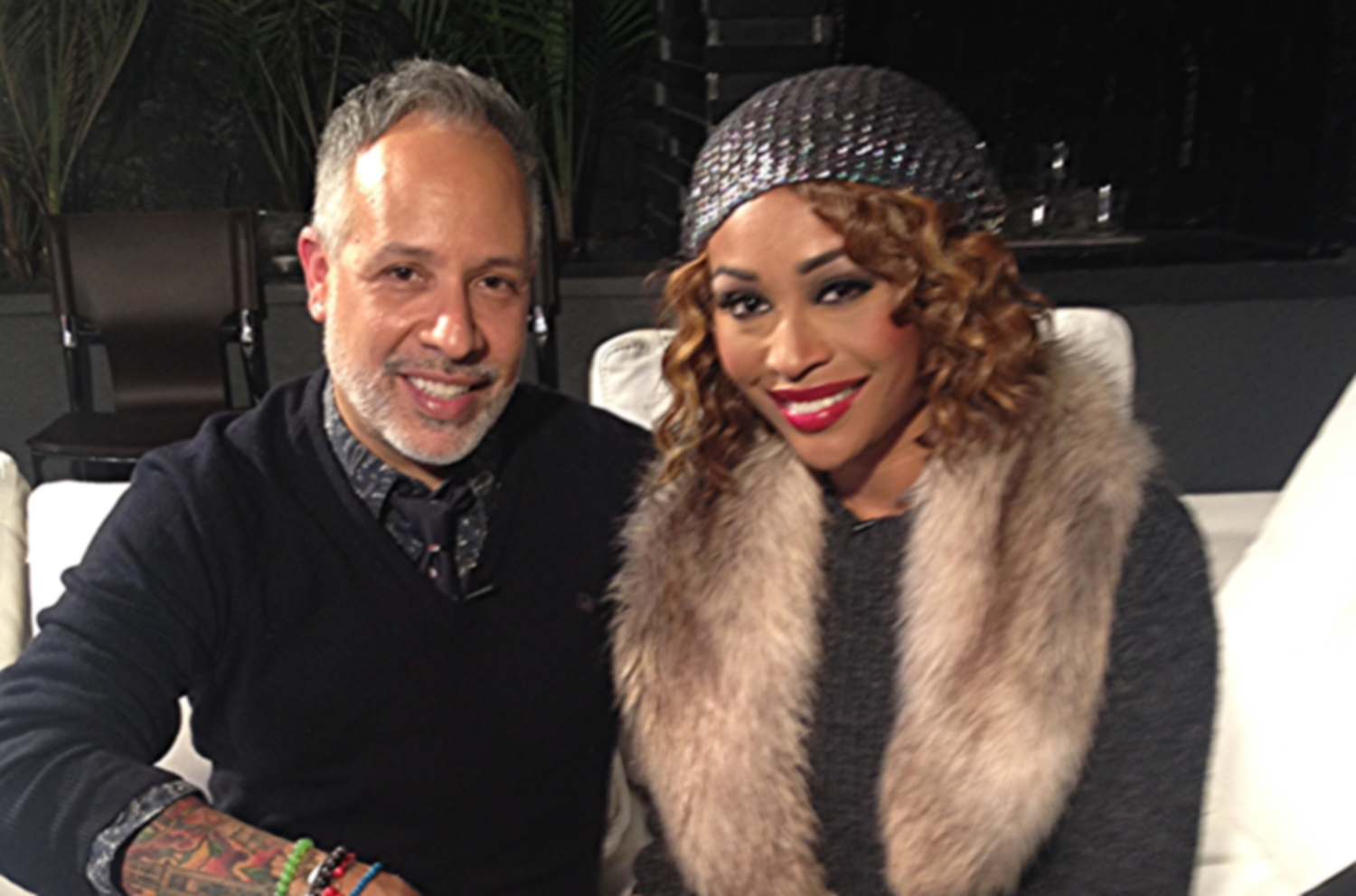 """My favorite RHOA Cynthia Bailey and I sat down for a long, very """"real"""" conversation. Click  HERE  to watch!"""