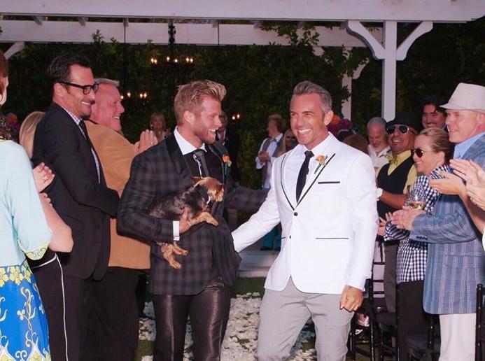 Pretty couple; Power couple! Craig married Brandon Liberati last year. Brandon's a celebrity stylist & beauty guru. READ his tips to the perfect SELFIE,  here.