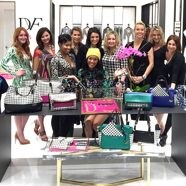 from the DVF Facebook page / the #DVFAtlanta crew