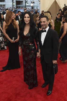 Cher with Marc Jacobs.