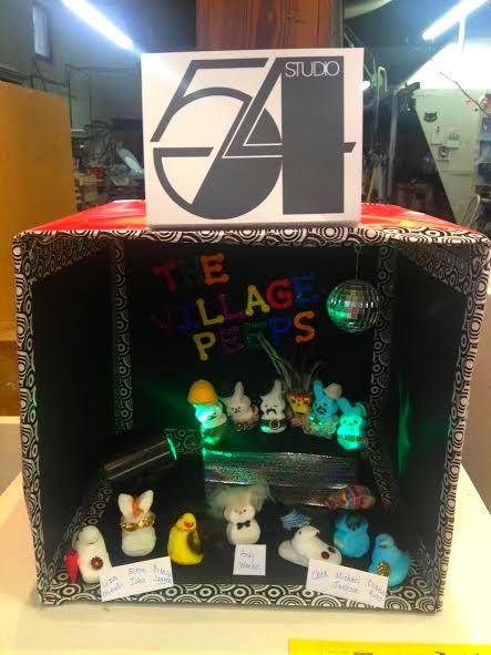 Studio 54 Peeps and the Village Peeps ... 1st Place Winner!