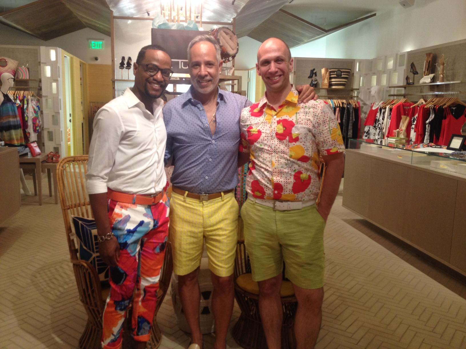 "Photo opp with the ""Turk Boys"" Craig & Richard!"