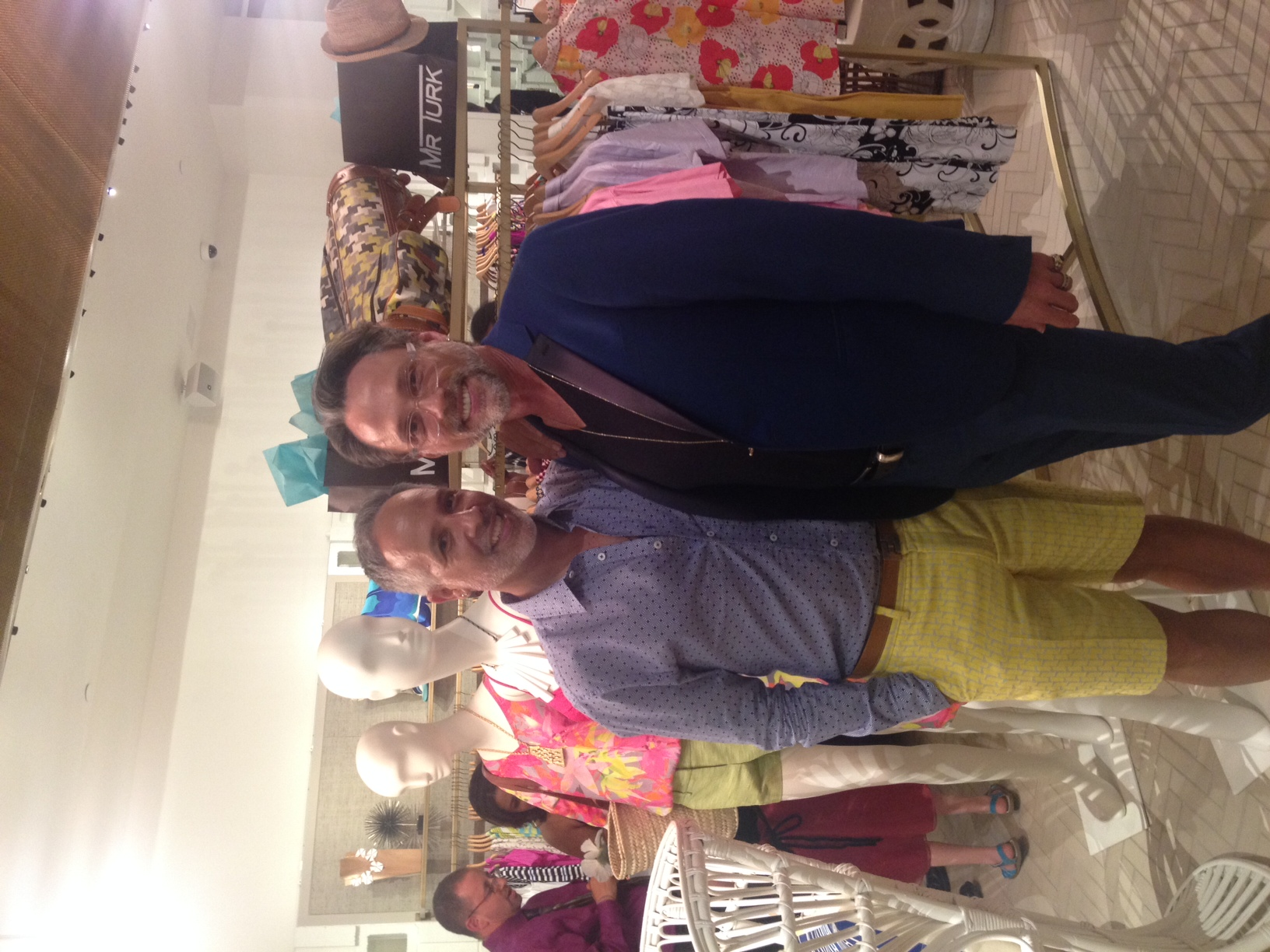 Mr Turk found a new friend with Steve Hightower, one of the most prominent stylists in Atlanta.
