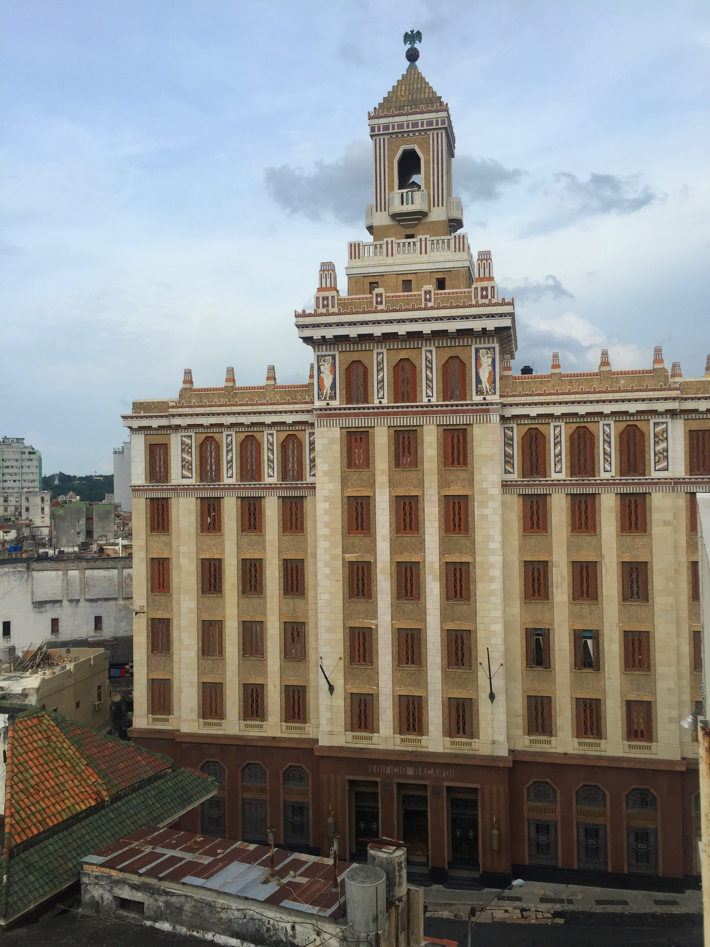 The Barcadi Building in Havana.