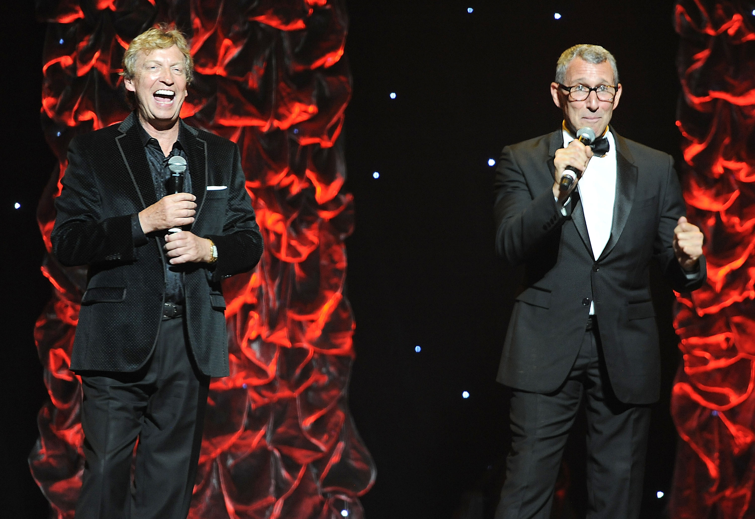 Founders of the Dizzy Feet Foundation Nigel Lythgoe and Adam Shankman.
