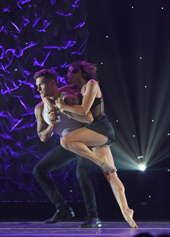 Jenna Dewan Tatum and dancer/choreographer Travis Wall