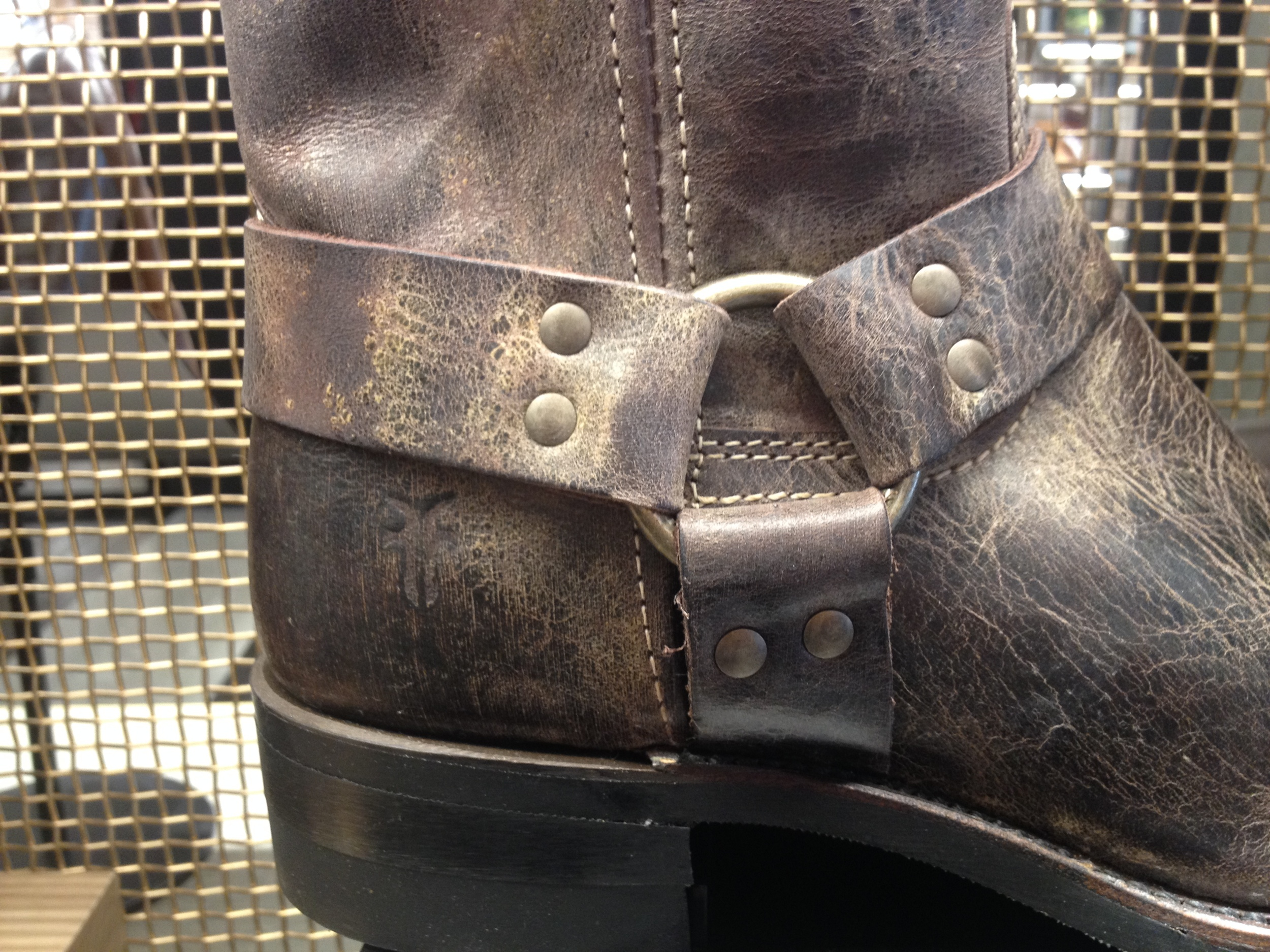 The iconic, motorcycle boot.