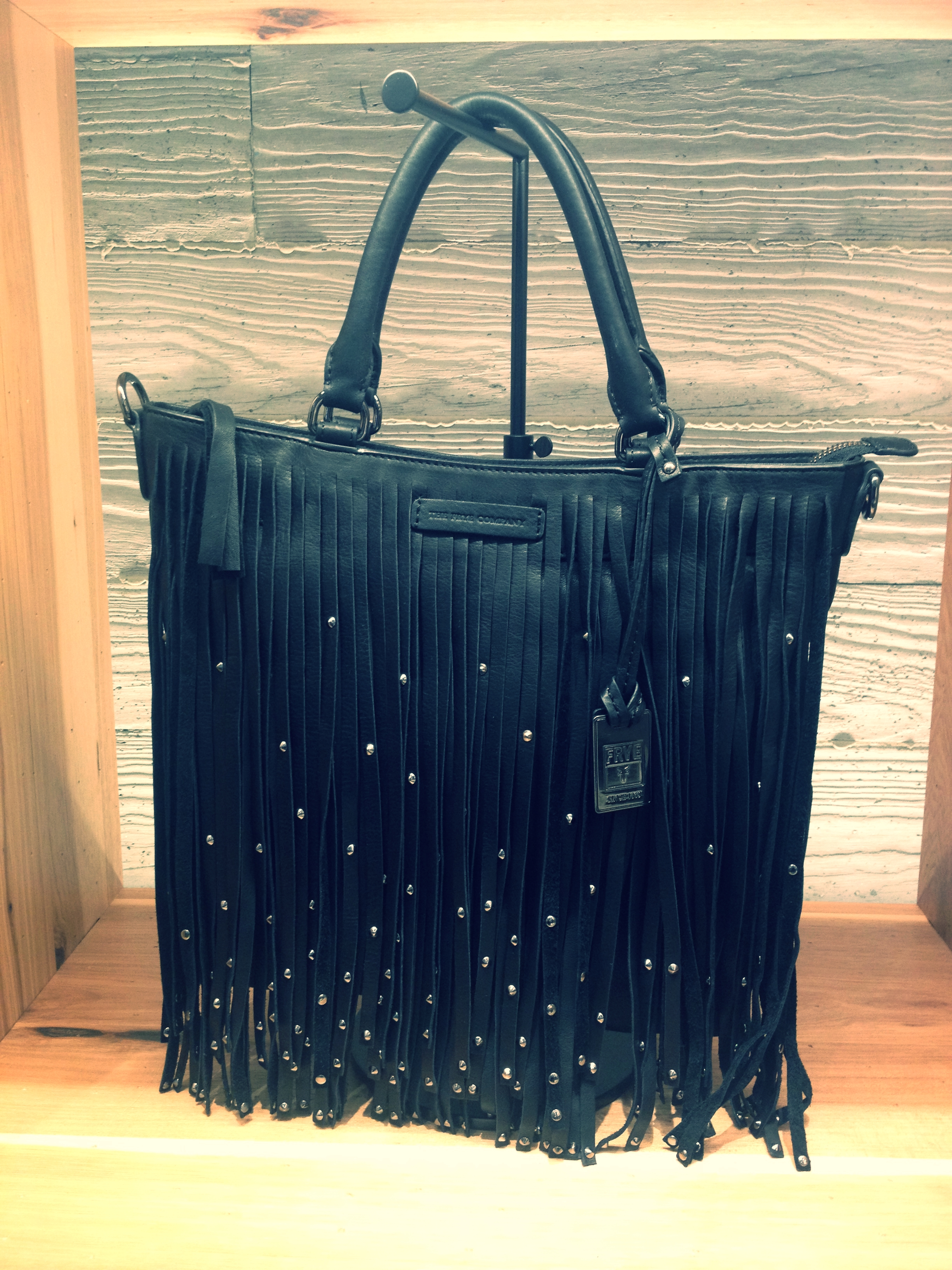 Ladies, you'll LOVE the fringe on bags and shoes!