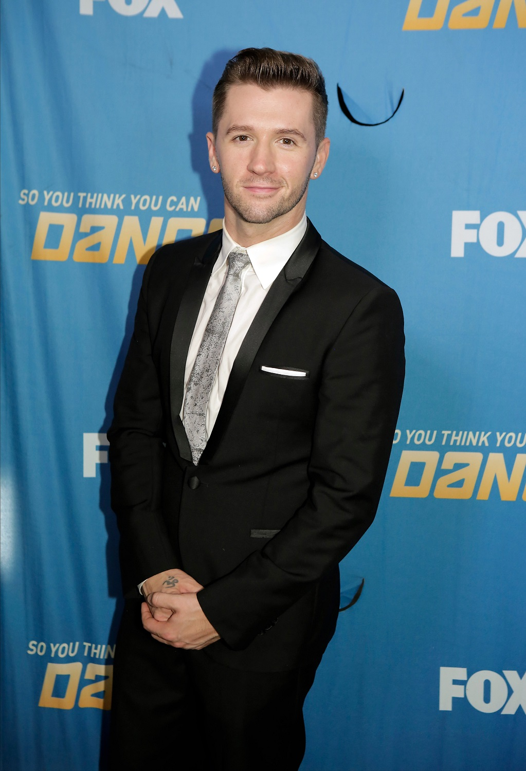 Travis Wall        Head to Toe:  Armani
