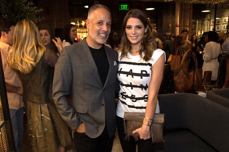Ashley Greene and I chatted for a while. I went up to say hello to her with my friend Anna. We couldn't resist letting Ashley know that she is our favorite vampire in the Twilight Saga Series.  Photo:Paras Griffin/The Photoman Life