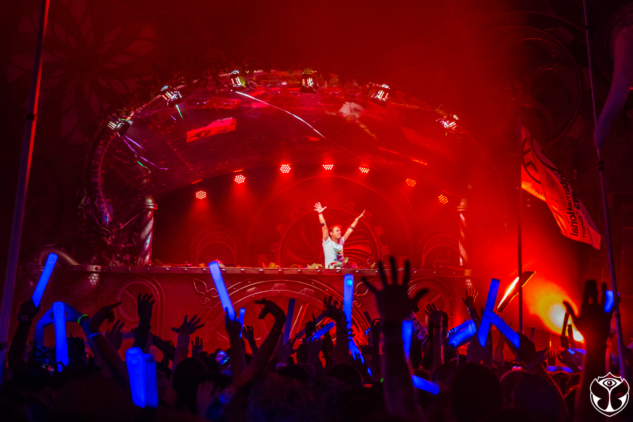 Armin Van Buuren at TomorrowWorld 2015. Photo: Marc Van Der Aa