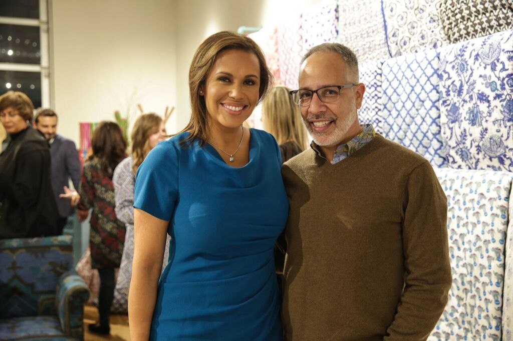 WBSTV's Jovita Moore & I shared a moment in between shopping.