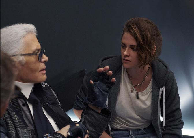 Karl Lagerfeld & Kristen Stewart