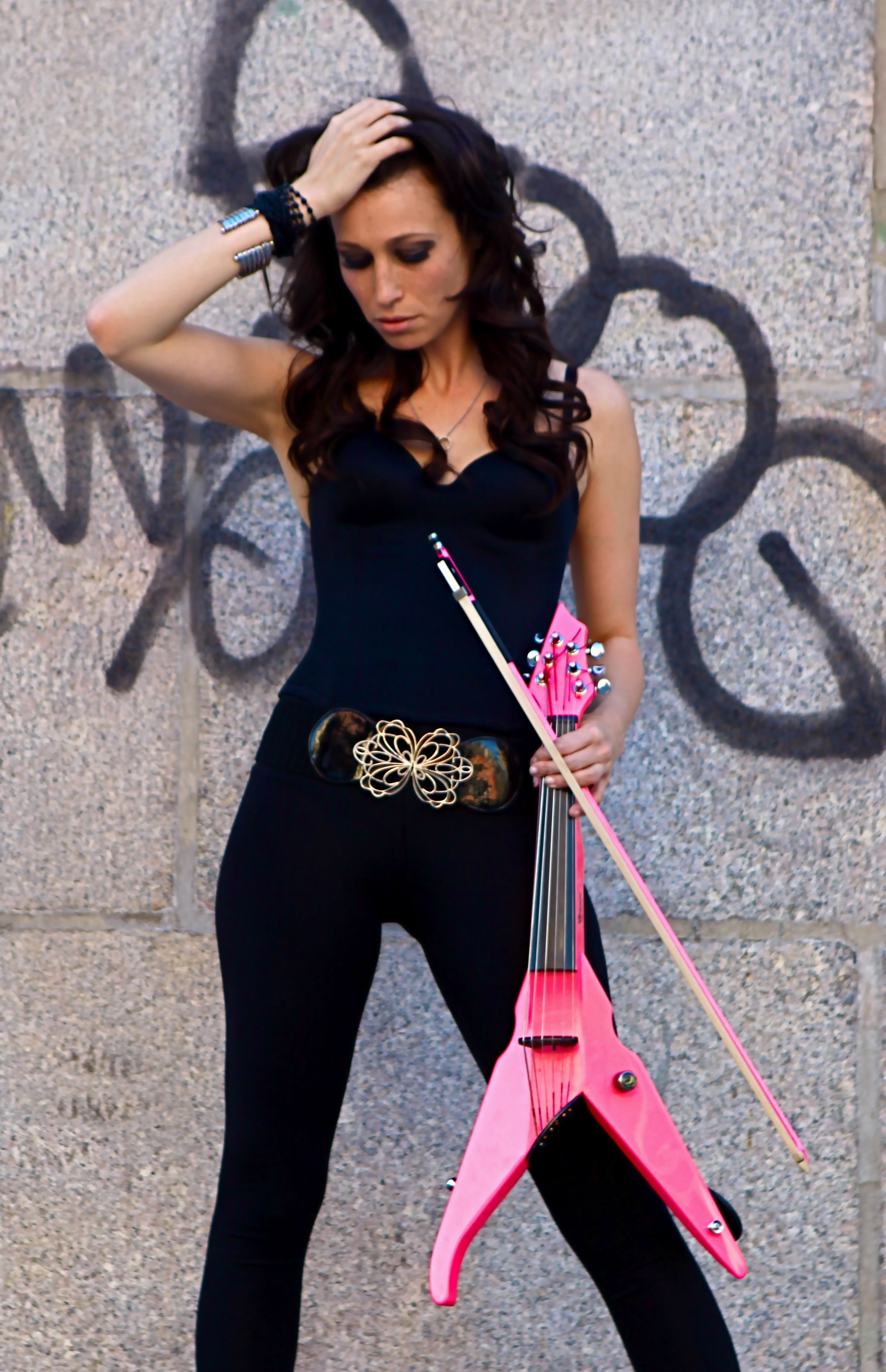 sarah charness pink violin