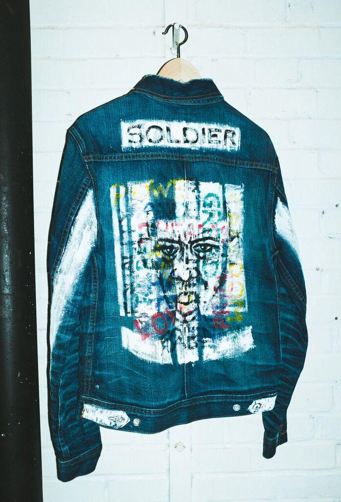 Custom designed Fourth of November Denim Jacket by Miloh Smith