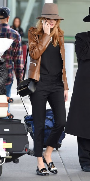 Blake Lively in Janessa Leone hat