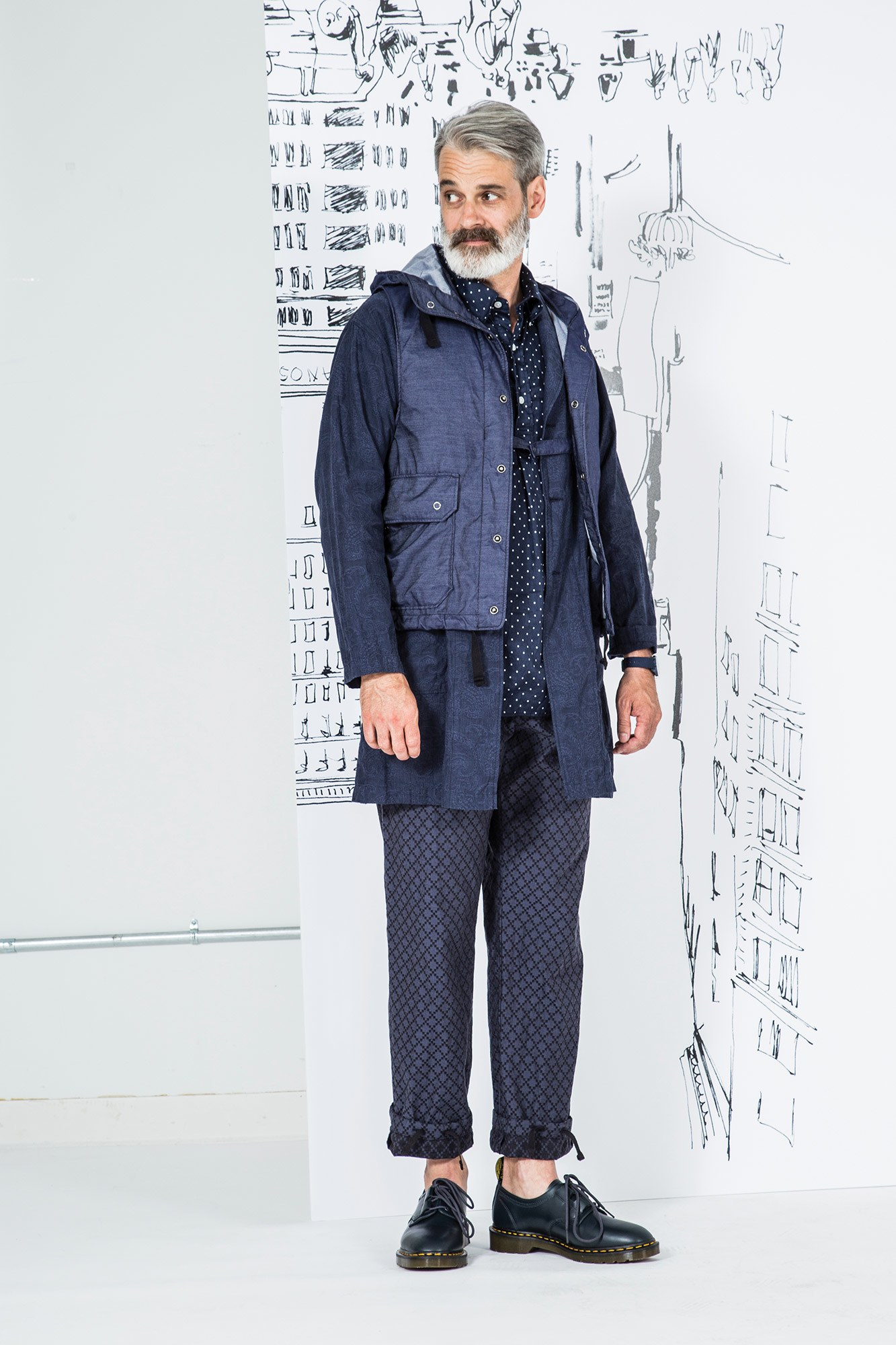 Engineered Garments Spring 2017 Menswear NYFWM