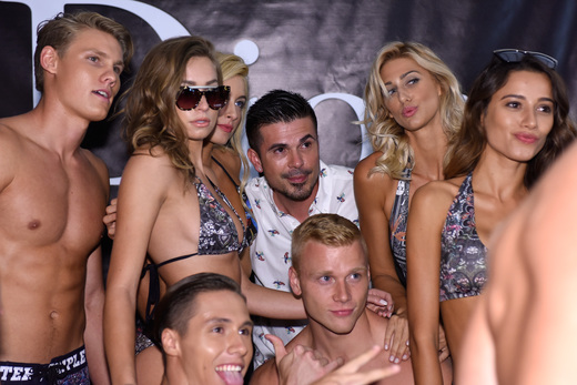 BTS Miami Swim Week Art Hearts Fashion