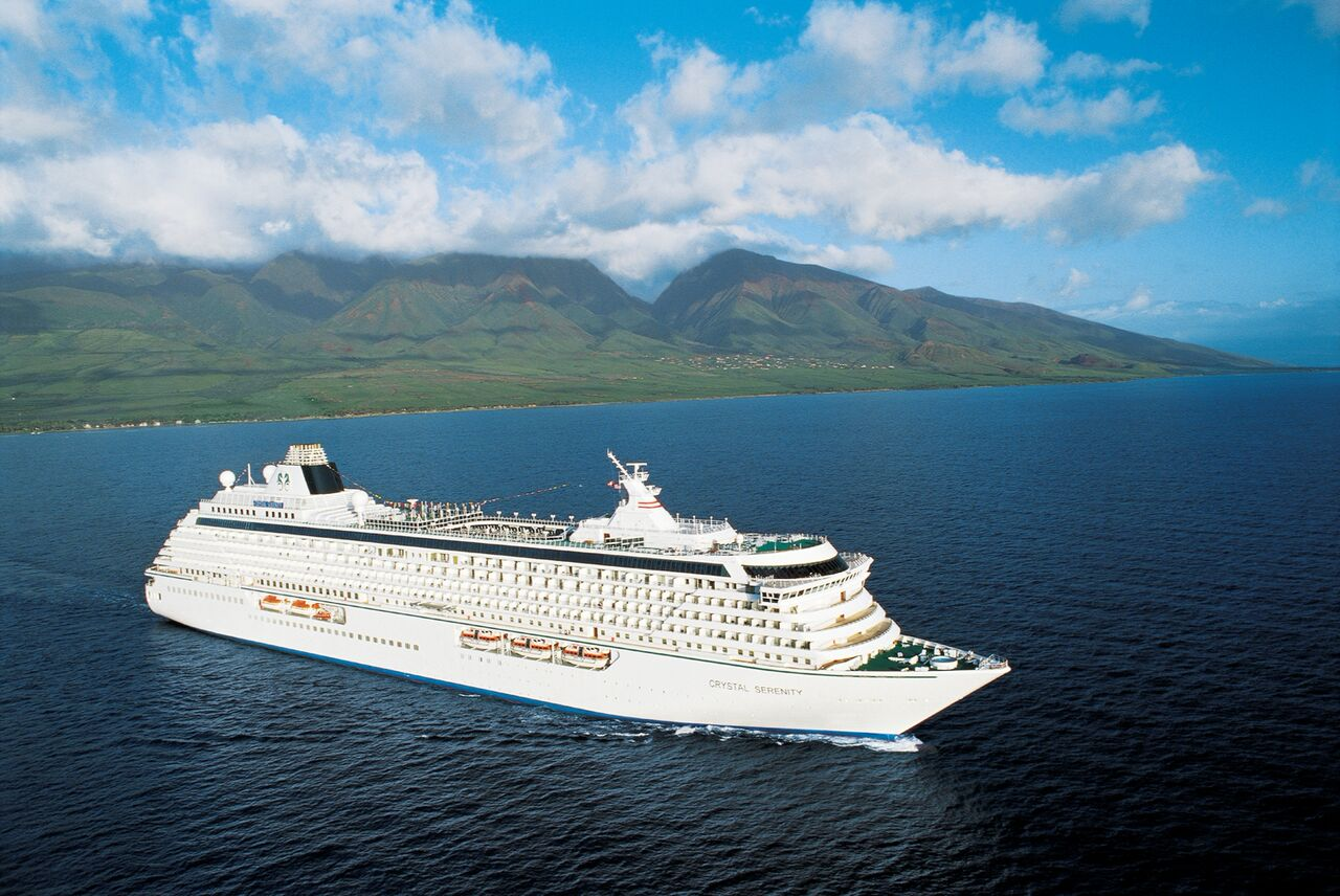 "Crystal Cruises ""Azure Reflections"" Voyage"