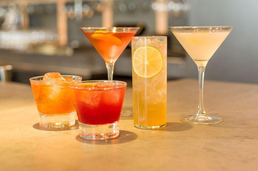 GRAIN cocktails.  Photo by Tomas Espinoza.