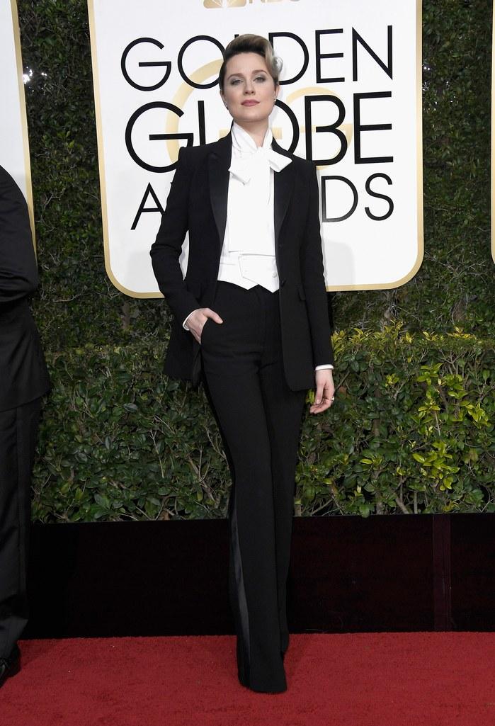 Evan Rachel Wood in Altuzarra