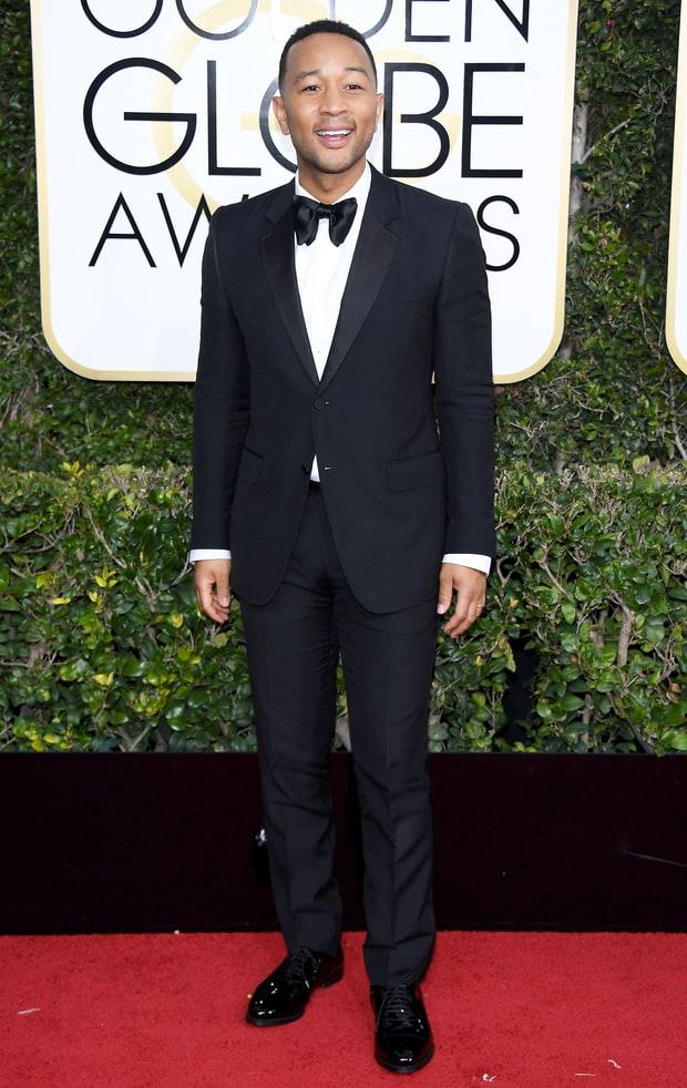 John Legend in Gucci.