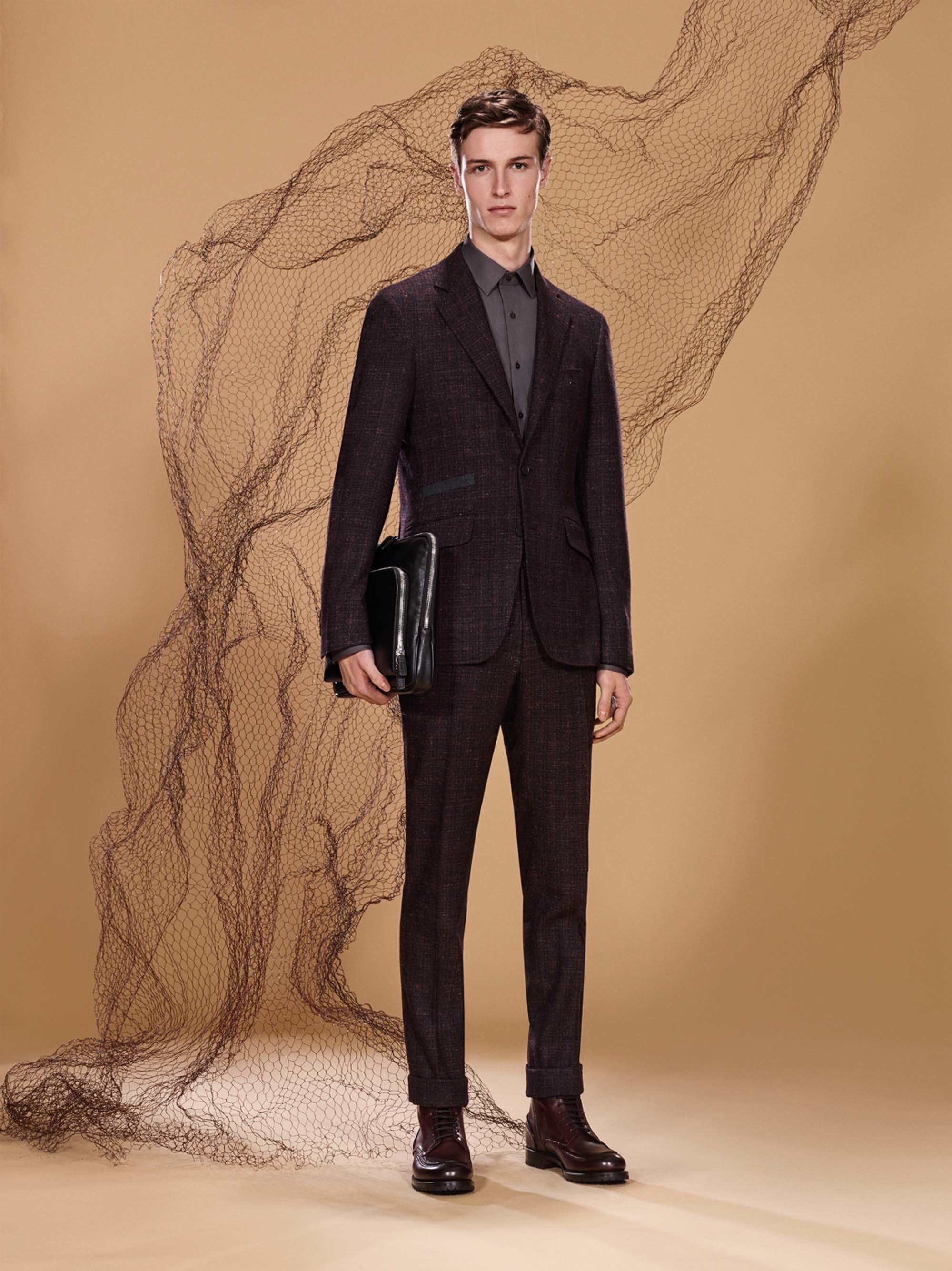 Canali Fall 2017 Menswear