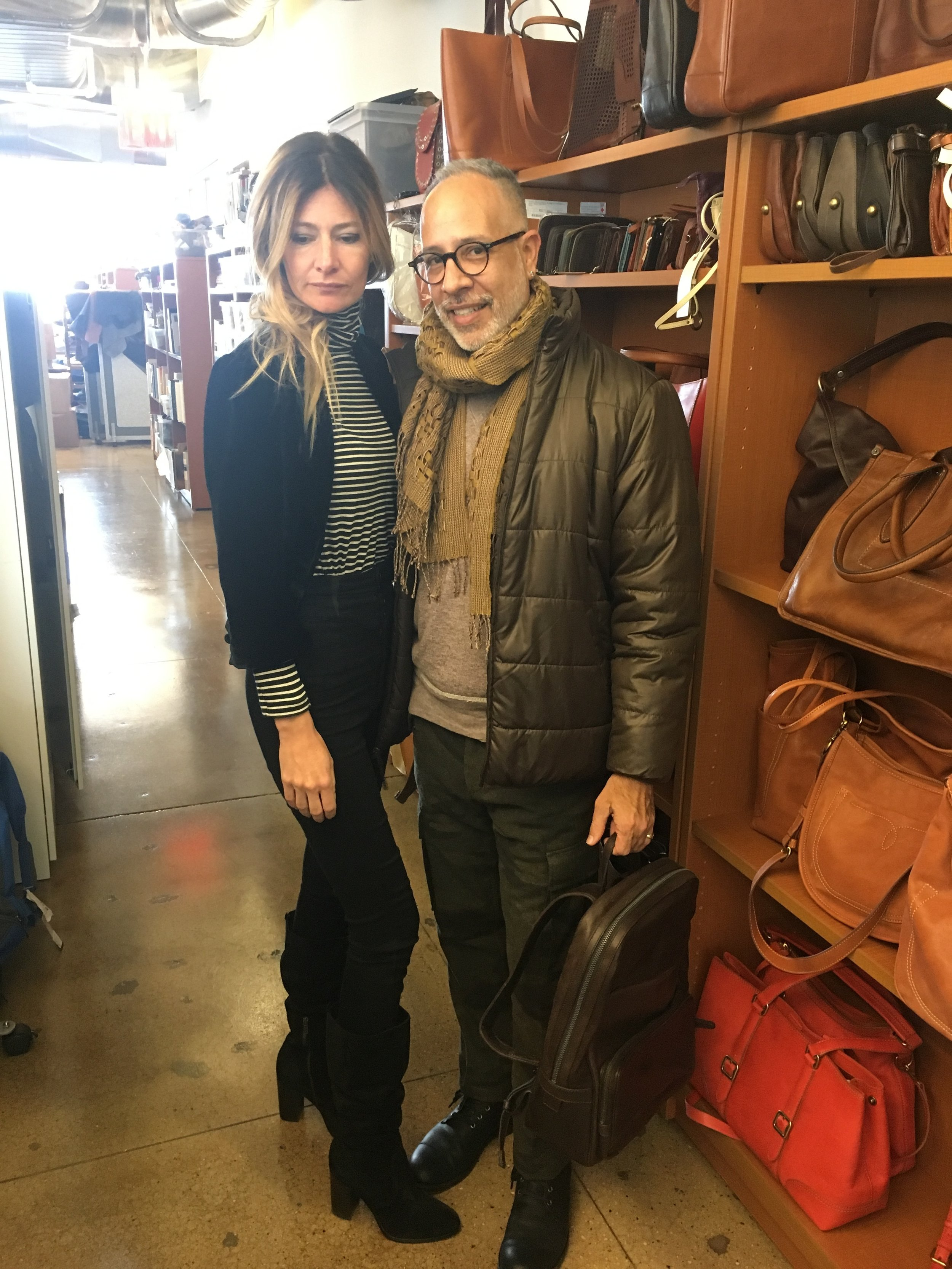 My visit to the Frye Company.