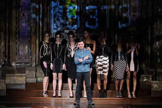 Erik Rosete. Mister Triple X at New York Fashion Week Art Hearts Fashion NYFW FW/17